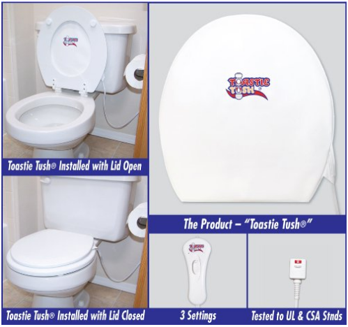 DIY Bathroom luxury Heated Toilet Seat and an easy to