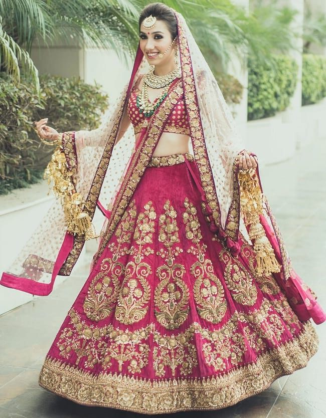 35 Punjabi Bridal Lehenga Styles That You Would Want To Steal Looksgud In Indian Bridal Lehenga Indian Wedding Gowns Indian Bridal Wear
