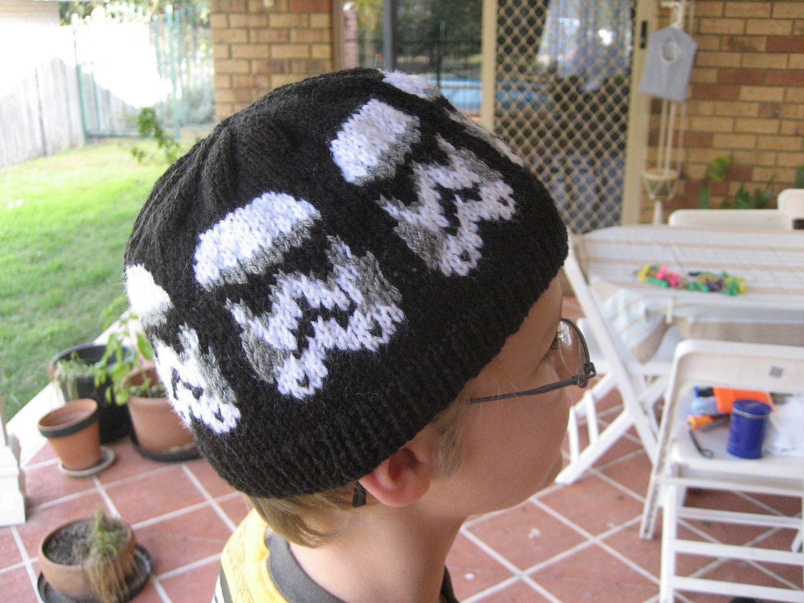 Perfecto Patrones Guerra De Las Galaxias Sombrero De Crochet Libre ...