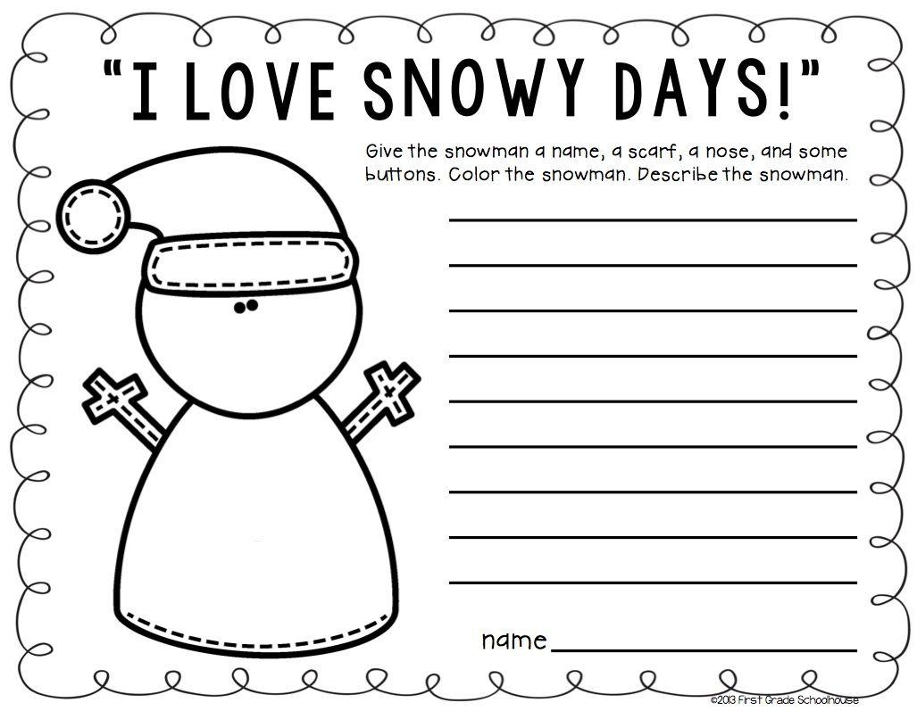 Winter Writing Activities Second Grade Winter Writing Prompts Winter Writing Prompts Writing Activities Winter Writing [ 797 x 1027 Pixel ]