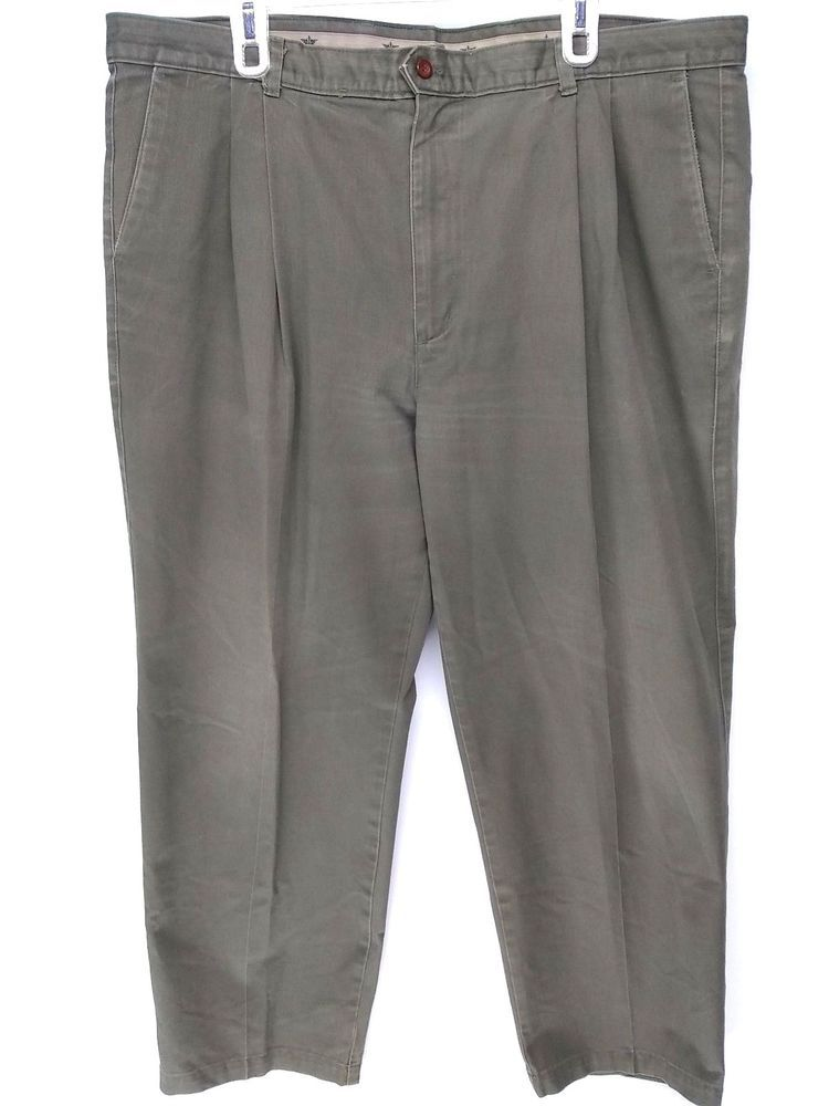 c2a54af4c56 Dockers Levis Men's Pants Classic Fit Pleated Big and Tall Size 43 x 29  #DOCKERS #DressPleat