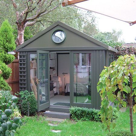 Garden Room But Would Paint It A Different Colour, Lighter I Think.