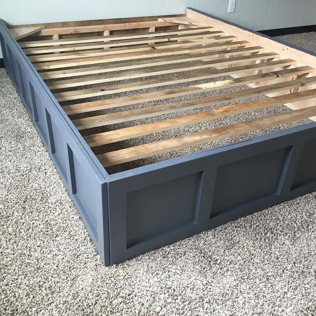 Best Here Is The Picture Of The Bed Frame Setup I Promised You 400 x 300