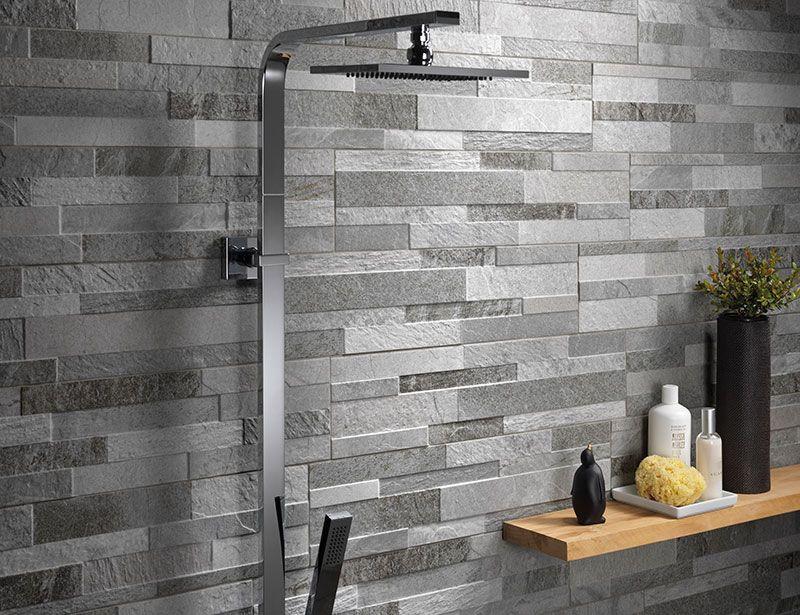 Yogi Grey Split Face Stone Effect Tiles