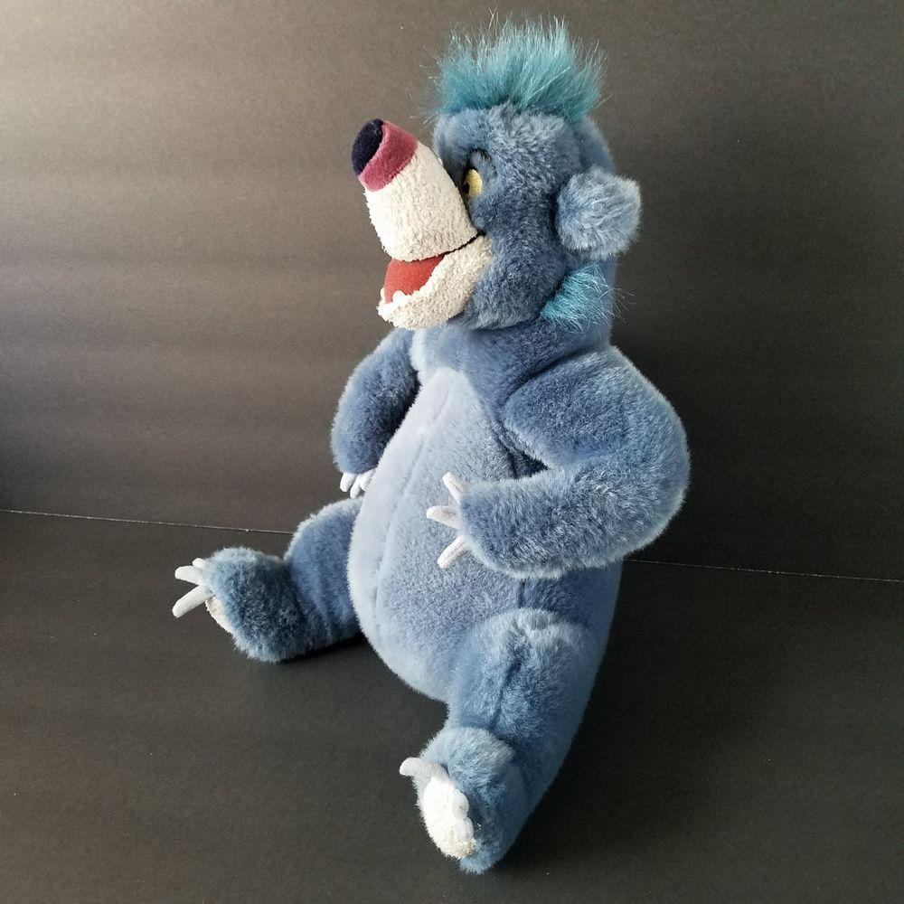 Disney Store Baloo Plush The Jungle Book Stuffed Bear Toy 12 Inch Disney Bear Plush Small Plush Toys Bear Toy
