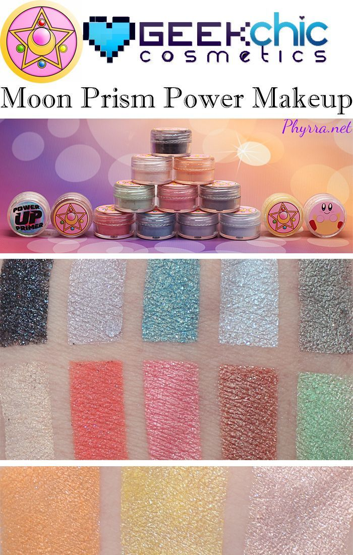Geek Chic Moon Prism Power Makeup Collection Review