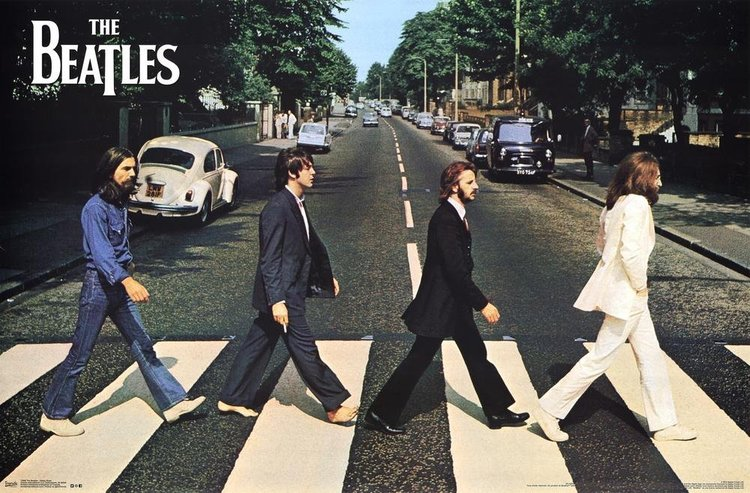 Abbey Road By The Beatles Poster Dorm Room Posters 20 Off Beatles Poster Beatles Albums Iconic Album Covers