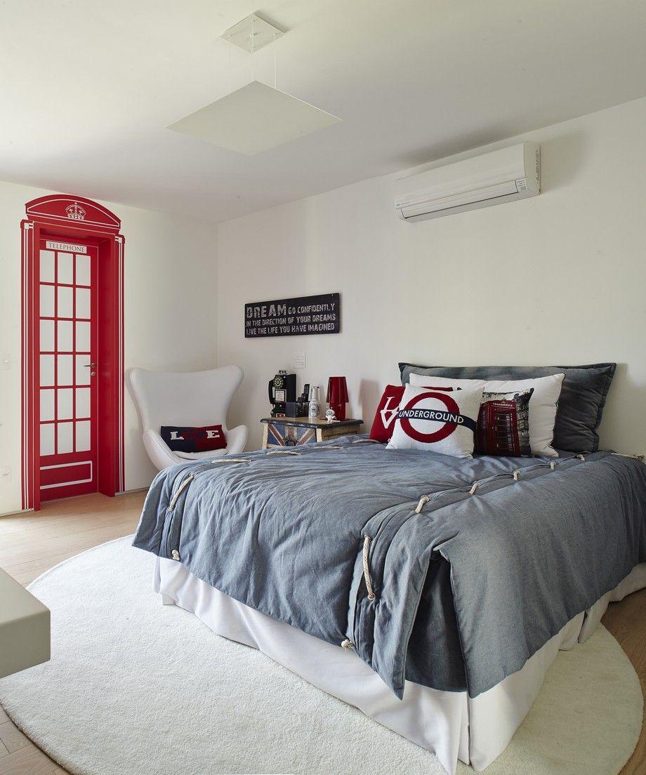 Funda Nordica Underground.Modern Apartment 23 Amazing Design Quartos Decoracao Quartos