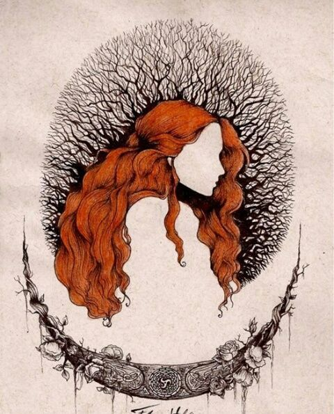 The muse of the dark trees on We Heart It