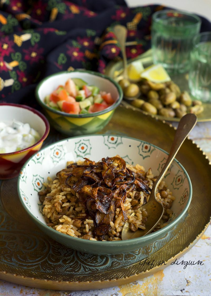 Mujadara Is A Lentil Rice Pilaf That Is Seasoned With Spices And
