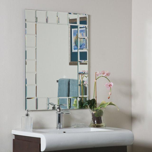 Decor Wonderland Montreal Bathroom Mirror contemporary-bathroom-mirrors