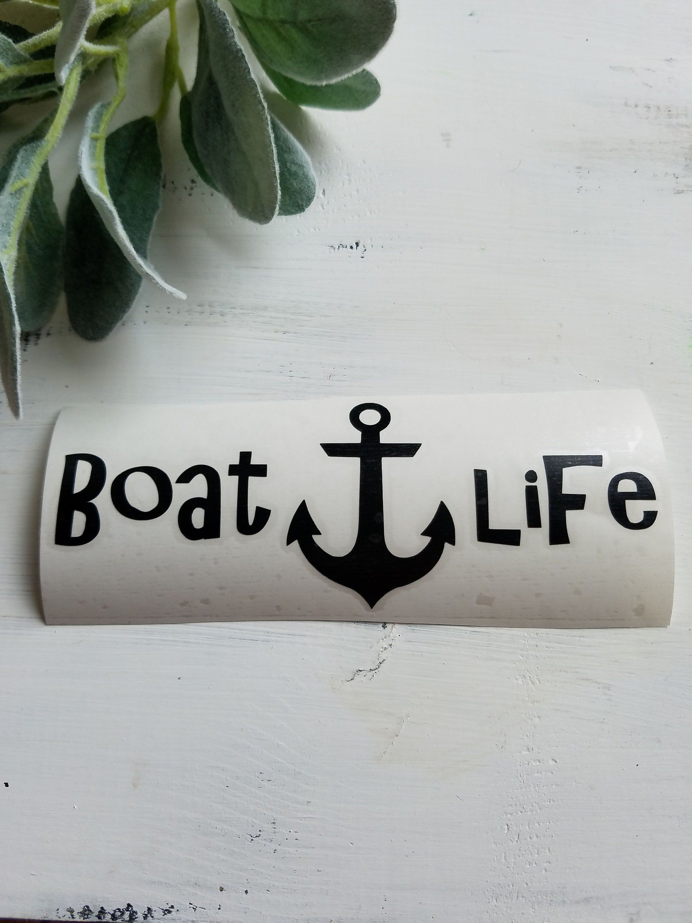 Boat Life Decal I Boat Life I Decals I Boat Decal I Etsy Decals For Yeti Cups Boat Decals Nautical Decals [ 3000 x 2250 Pixel ]