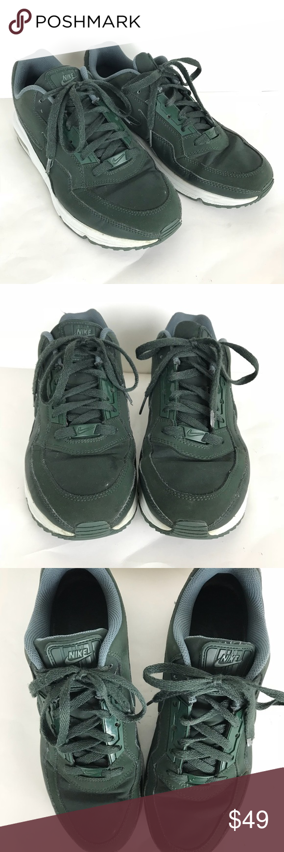 NIKE Air Max LTD 3 Mens Running Shoes Green 9.5