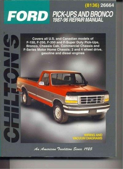 Chiltons ford pick ups and bronco 1987 96 repair manual products chiltons ford pick ups and bronco 1987 96 repair manual fandeluxe Gallery