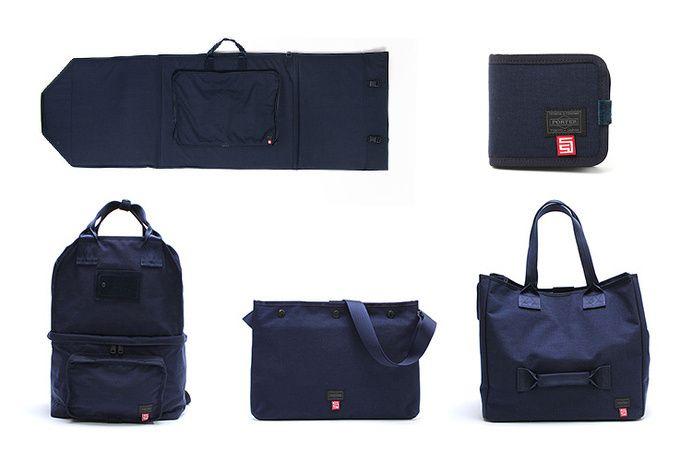 "S/DOUBLE × B mark YOSHIDA × Porter ""Surf City"" Bag Collection in Bag"