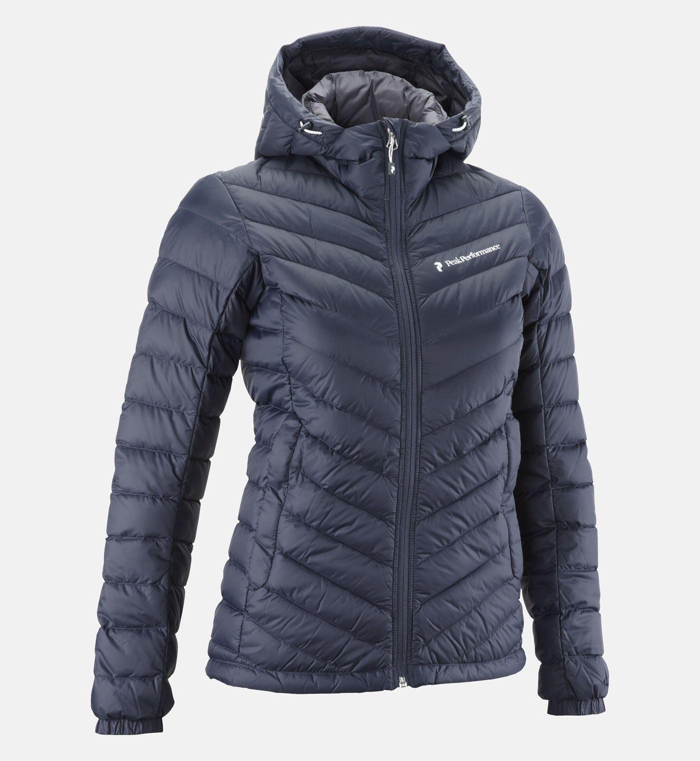 Women's Frost Active Down Jacket Hooded Peak Wear 4LqRj5A3