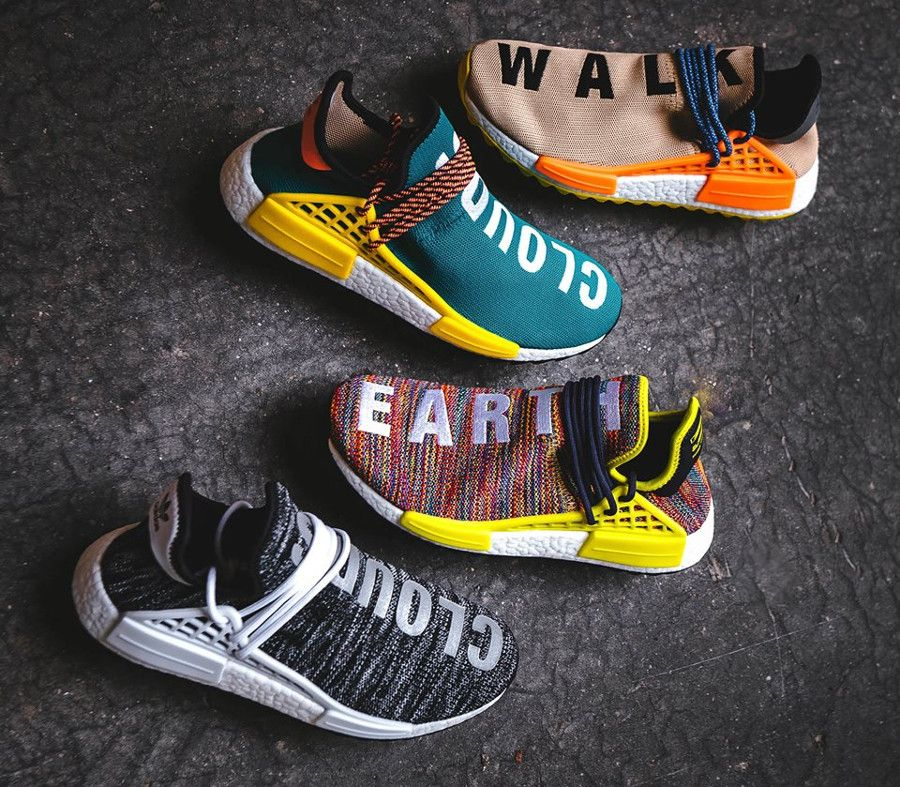buy online e24a9 4a6b9 Pharrell Williams x Adidas NMD Hu Human Race TR Trail (1)