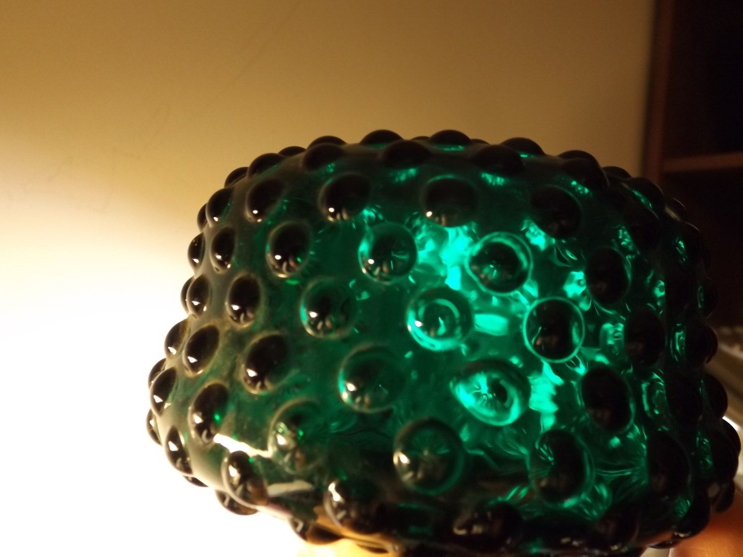 Antique hobnail glass green lamp part ornate lamp shade holder 3h antique hobnail glass green lamp part ornate lamp shade holder 3h oil aloadofball Images