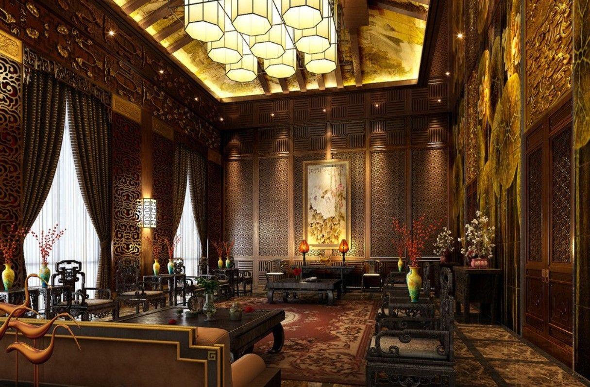 Chinese Retro Living Room Design Ideas Gangnam Style Pinterest  Extraordinary Chinese Living Room Design Decorating Design
