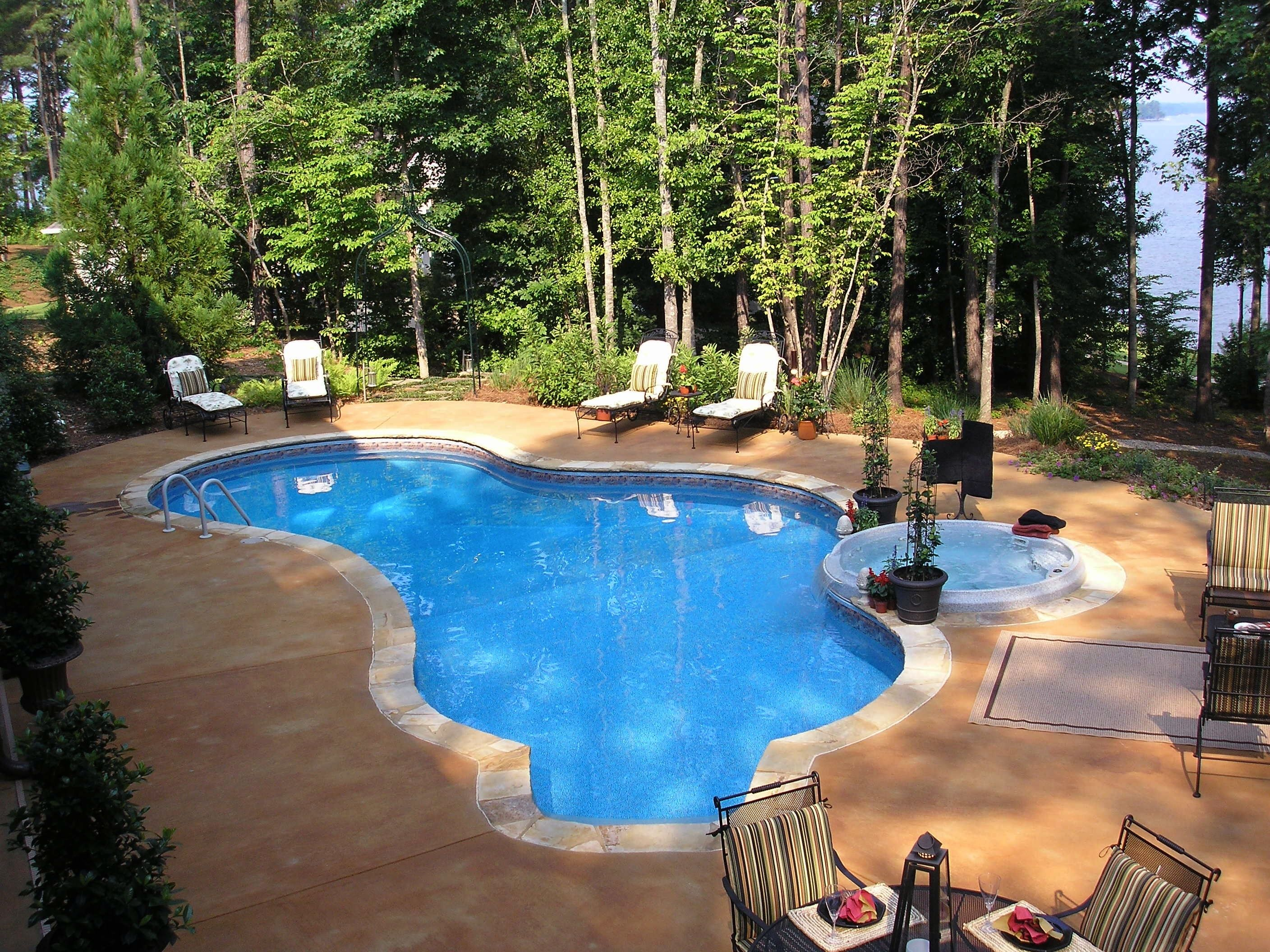 Inground Swimming Pools, On Ground Swimming Pools, Pools In New