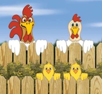 29-W1507YD+-+Chicken+Fence+Peekers+Woodworking+Plan