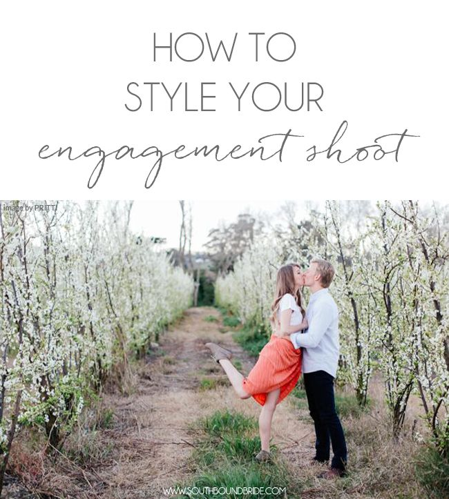 A Practical Wedding Real Weddings: How To Style Your Engagement Shoot