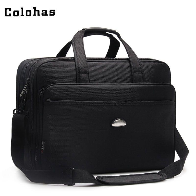 17 Inch Laptop Bag Men Big Capacity Cusiness Travel Computer Briefcase Notebook Handbag Single Shoulder Messen Laptop Bag Men 17 Inch Laptop Bag Laptop Handbag