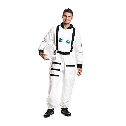 Kostümplanet® Astronauten Kostüm Herren Kostüm Astronaut