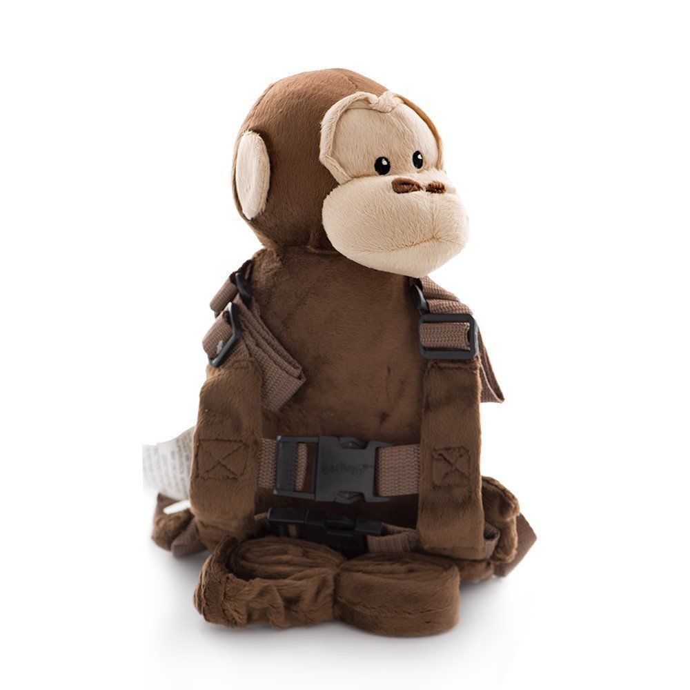 Berhapy 2 in 1 monkey toddler safety harness childrens