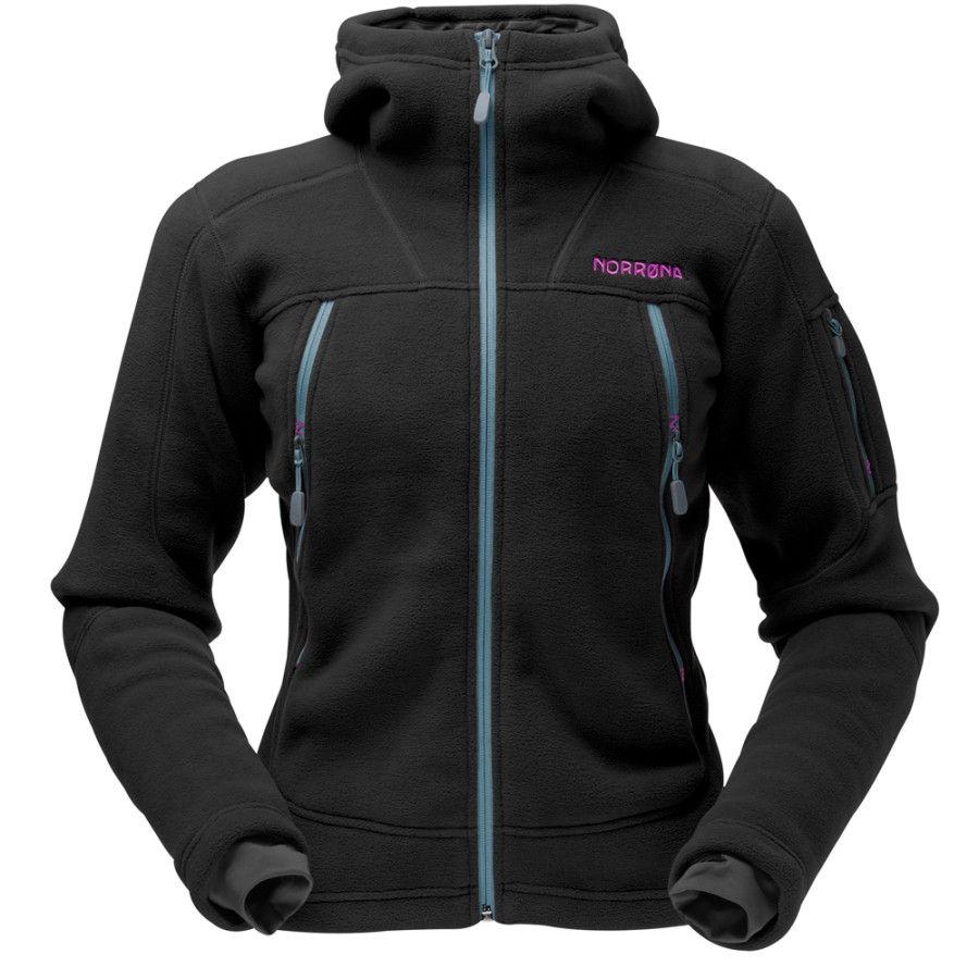 Norrøna Narvik Warm3 Hooded Fleece Jacket Women's
