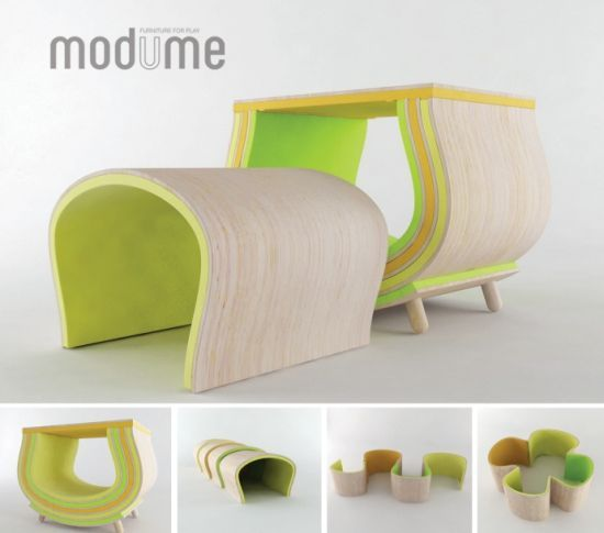 Delightful Me Is A Versatile Modular Furniture Set Concept For Kid, A Soft And  Sustainable Solution That Grows With You. It Is Multi Functional And Allows  Endless ...