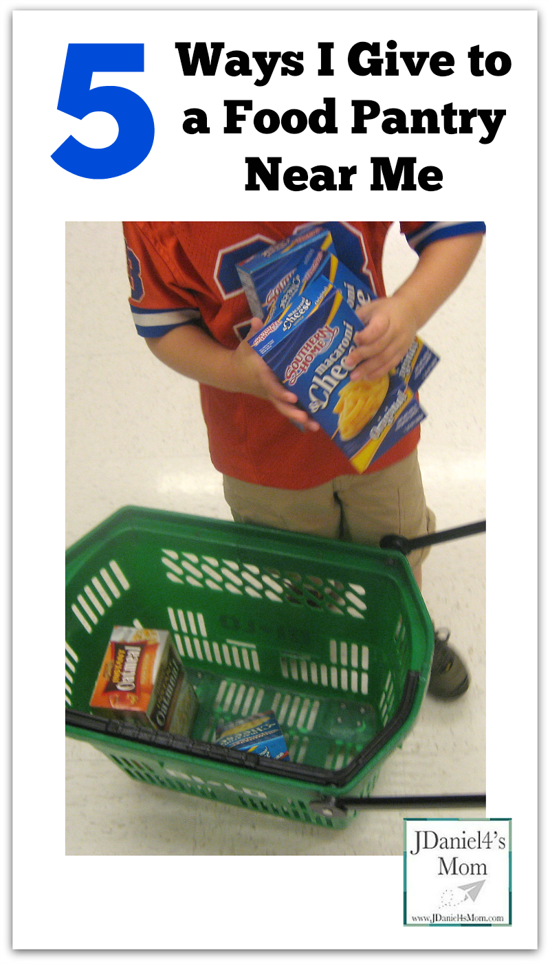 5 Ways I Give to a Food Pantry Near Me My son and I have