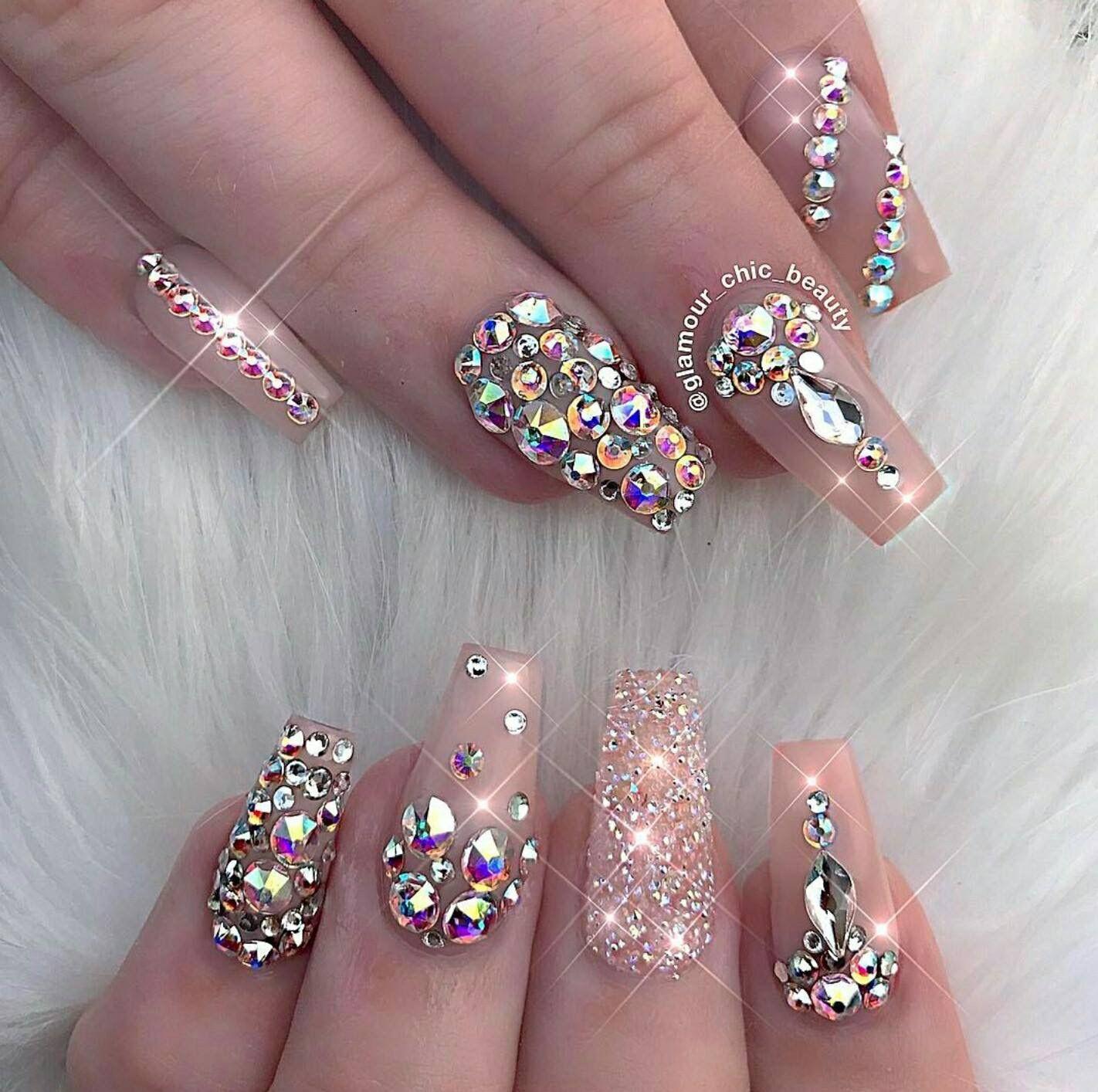 Glamorous nails// | Fashion Nails | Pinterest | Nail nail ...