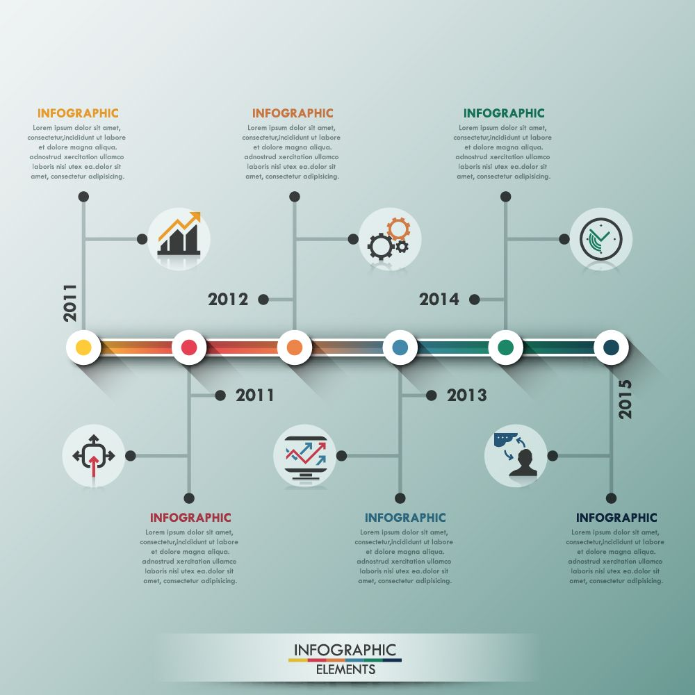 Business Infographic creative design 3085 | free vector | Pinterest ...