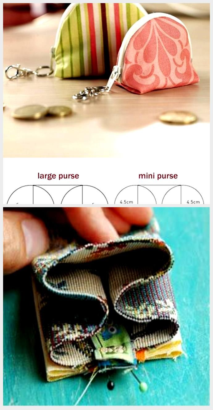Simple Coin Purse Free Tutorial and Pattern Simple Coin Purse Free Tutorial and Pattern