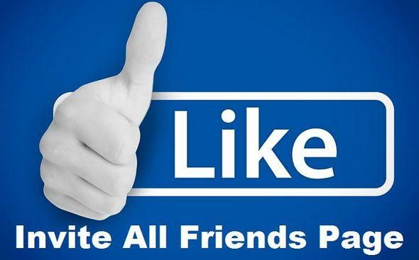 Invite All Facebook Friends By A Chrome Extension Pins From