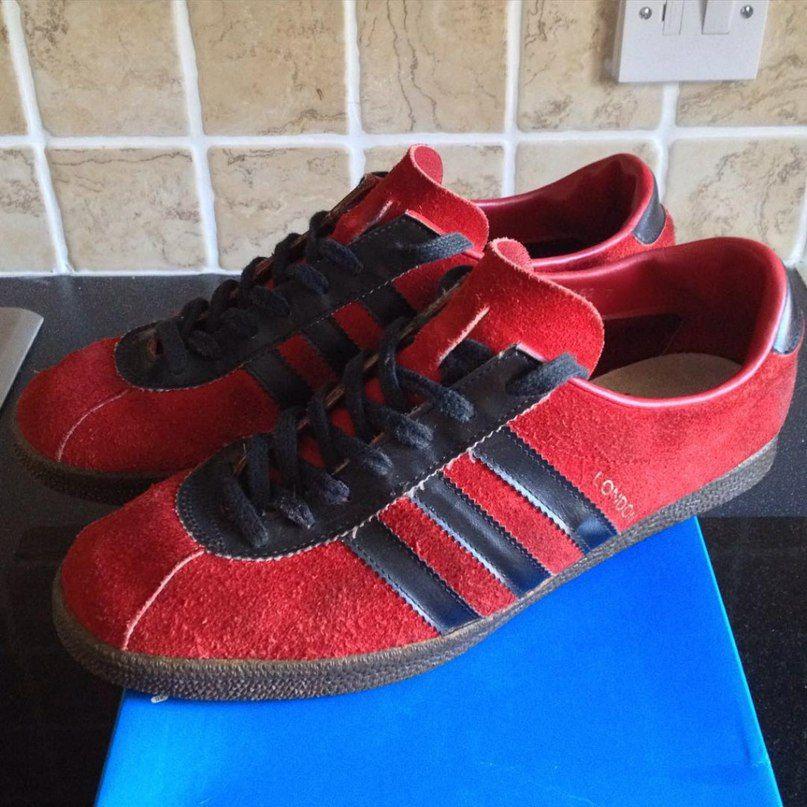 Adidas London. Made in Yugoslavia.