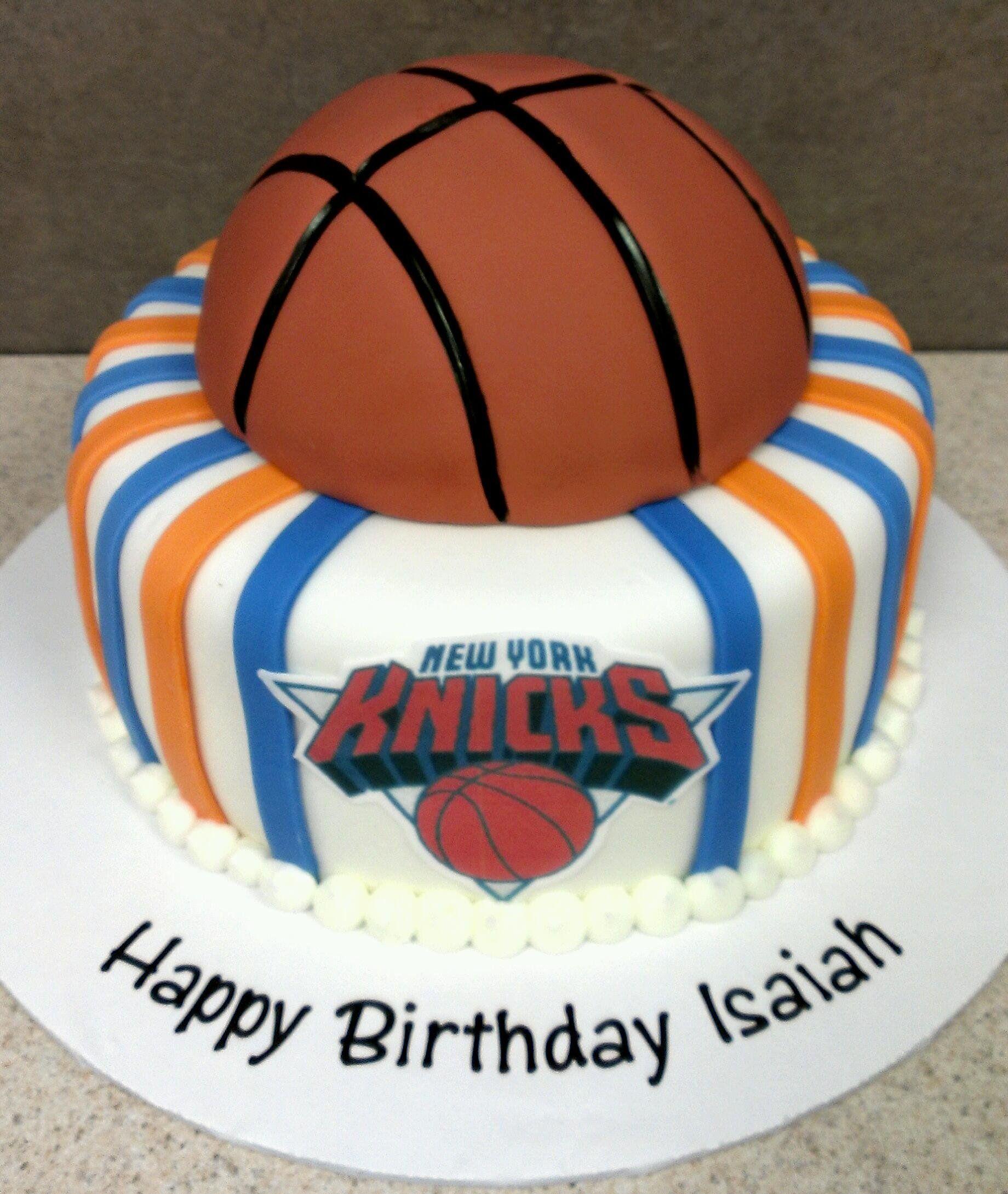 New York Knicks Birthday Cake Gateau Sport Gateau Anniversaire
