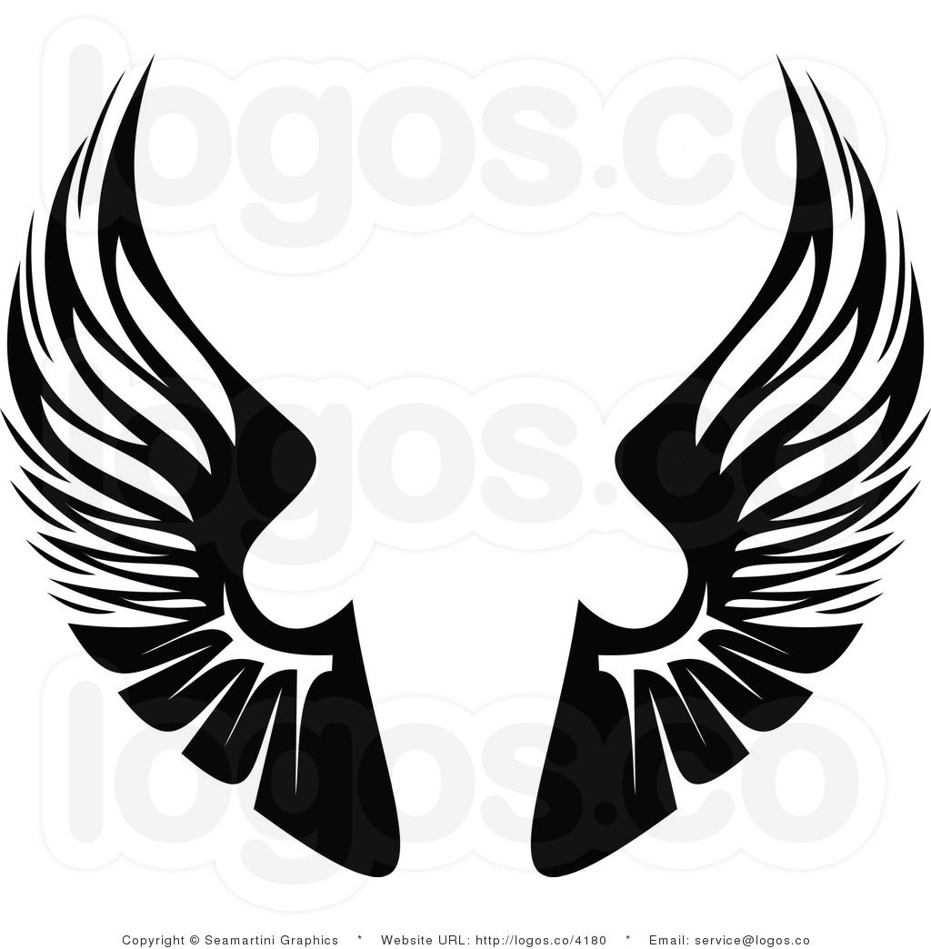 Eagle Wings Design Clipart Panda Free Images