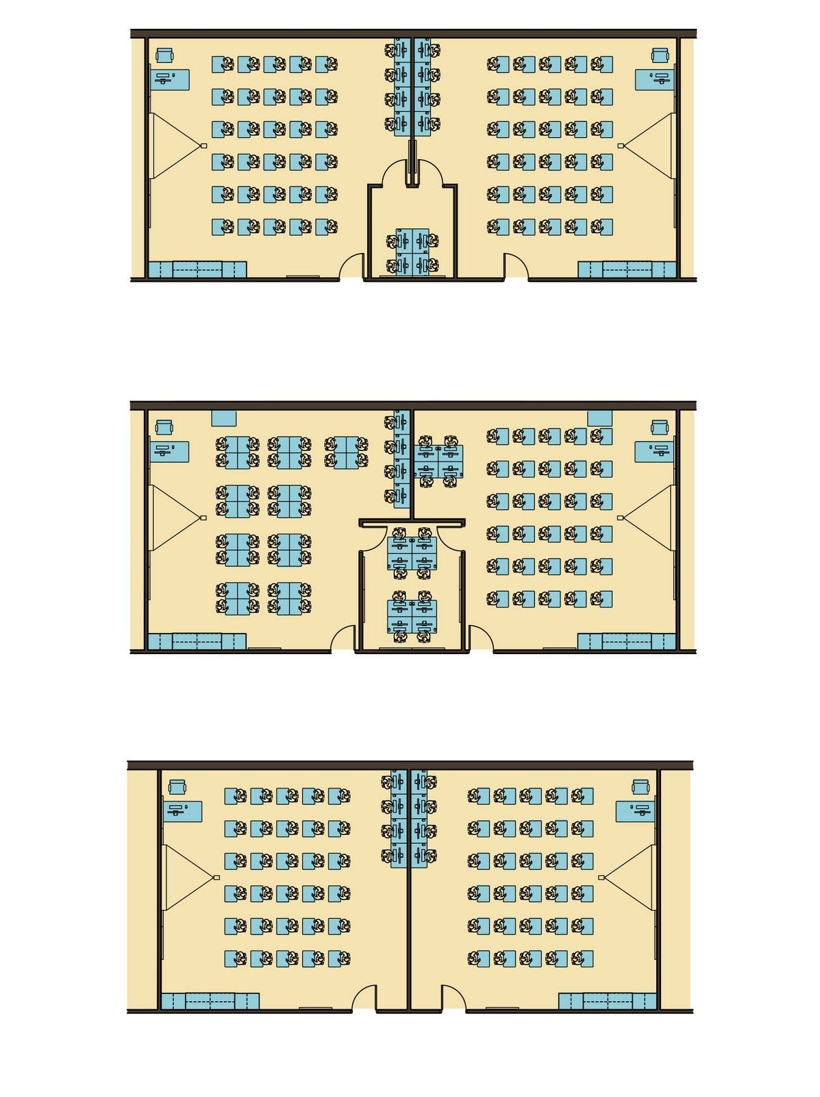 Classroom Design Scholastic ~ Bedford high school classroom layout options