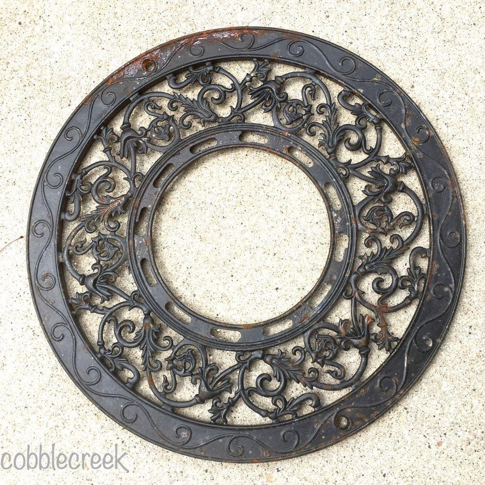 Decorative Metal Grates Antique Decorative Cast Iron Arched Heat Wall Grate Register Vent