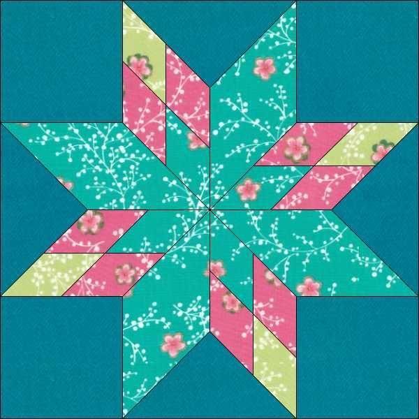 Star Block Pattern 6 Inch Block Patterns