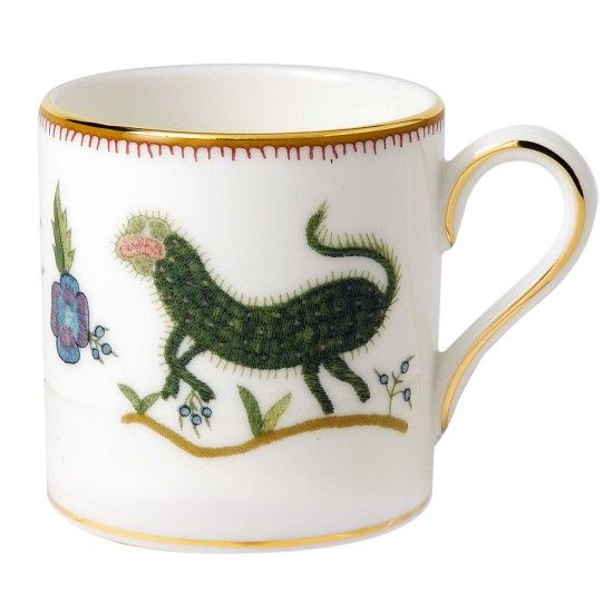 New from Wedgwood: Mythical Creatures Espresso Cup