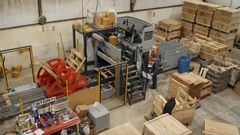 Upgraded Computerized Commercial Pallet Production at Hay ...