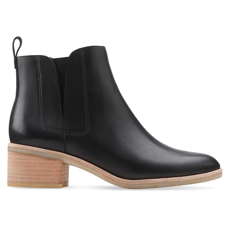 Clarks Originals Phenia Cresent Ankle Boots Color: Black
