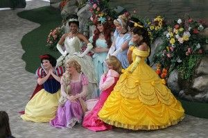 where to find Disney Princesses in disneyland and california adventure