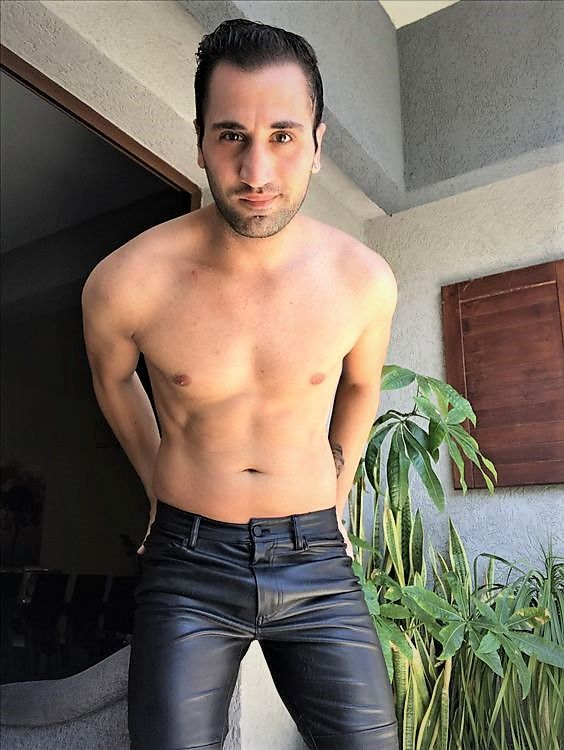 Pin On Leather Men