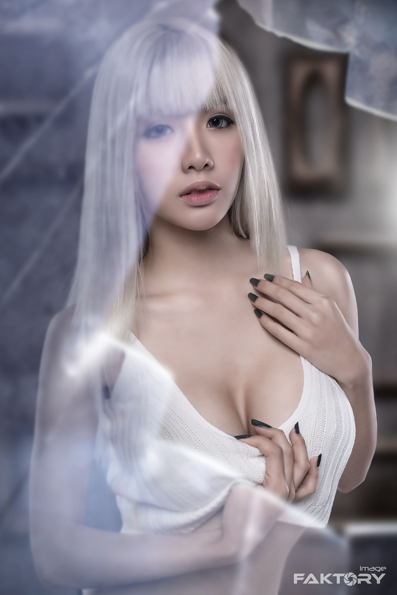 Thai girl breast