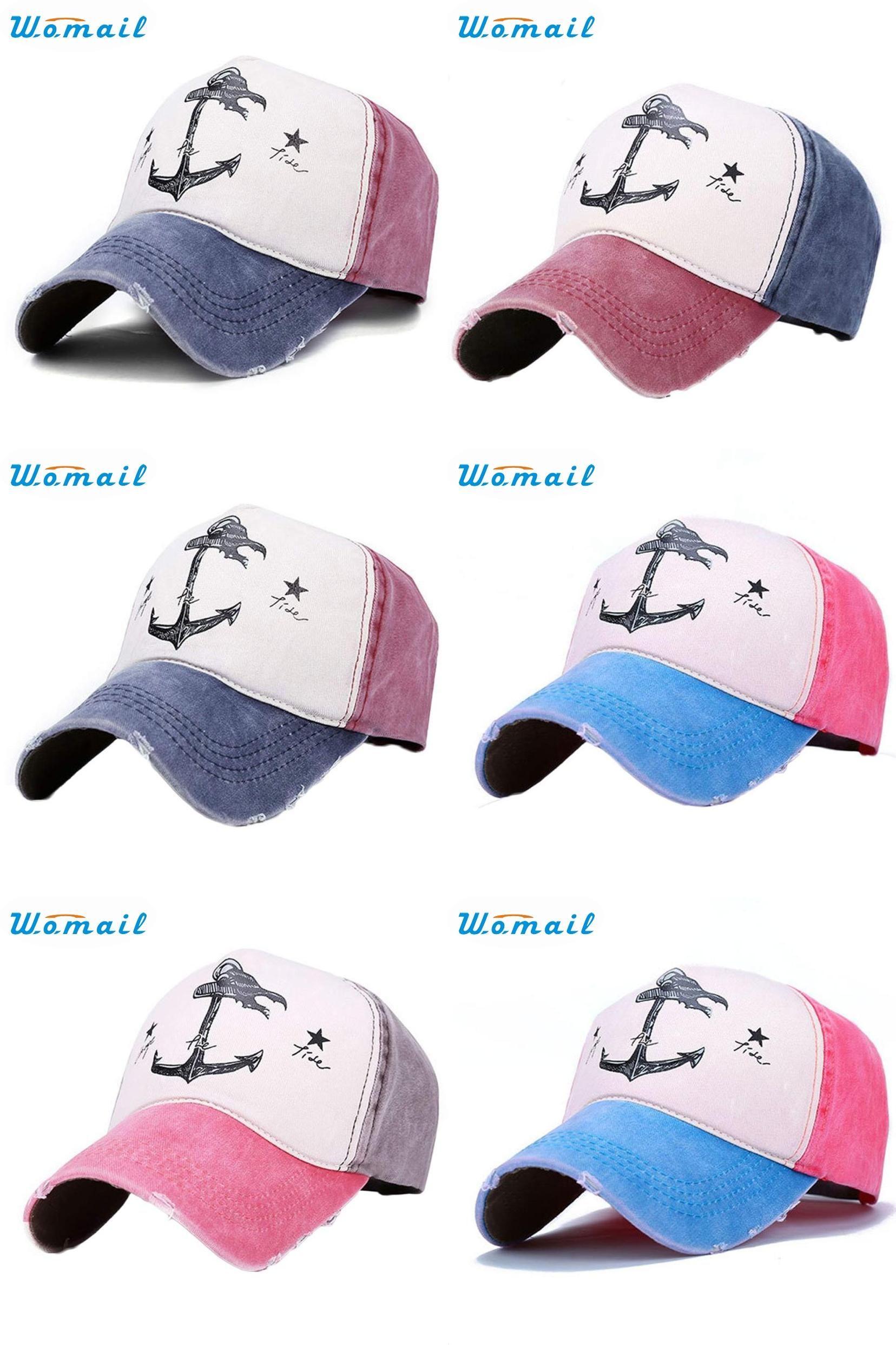 447c1e69cb5  Visit to Buy  Snapback Newly Design HOT best Baseball Cap Vintage Anchor  Printed Summer