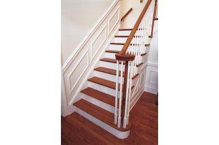 How To Install Engineered Wood Flooring On Stairs Hunker | Installing Engineered Hardwood On Stairs | Laminate Flooring | Carpet | Edge Engineered | Nail Head | Dark Walnut